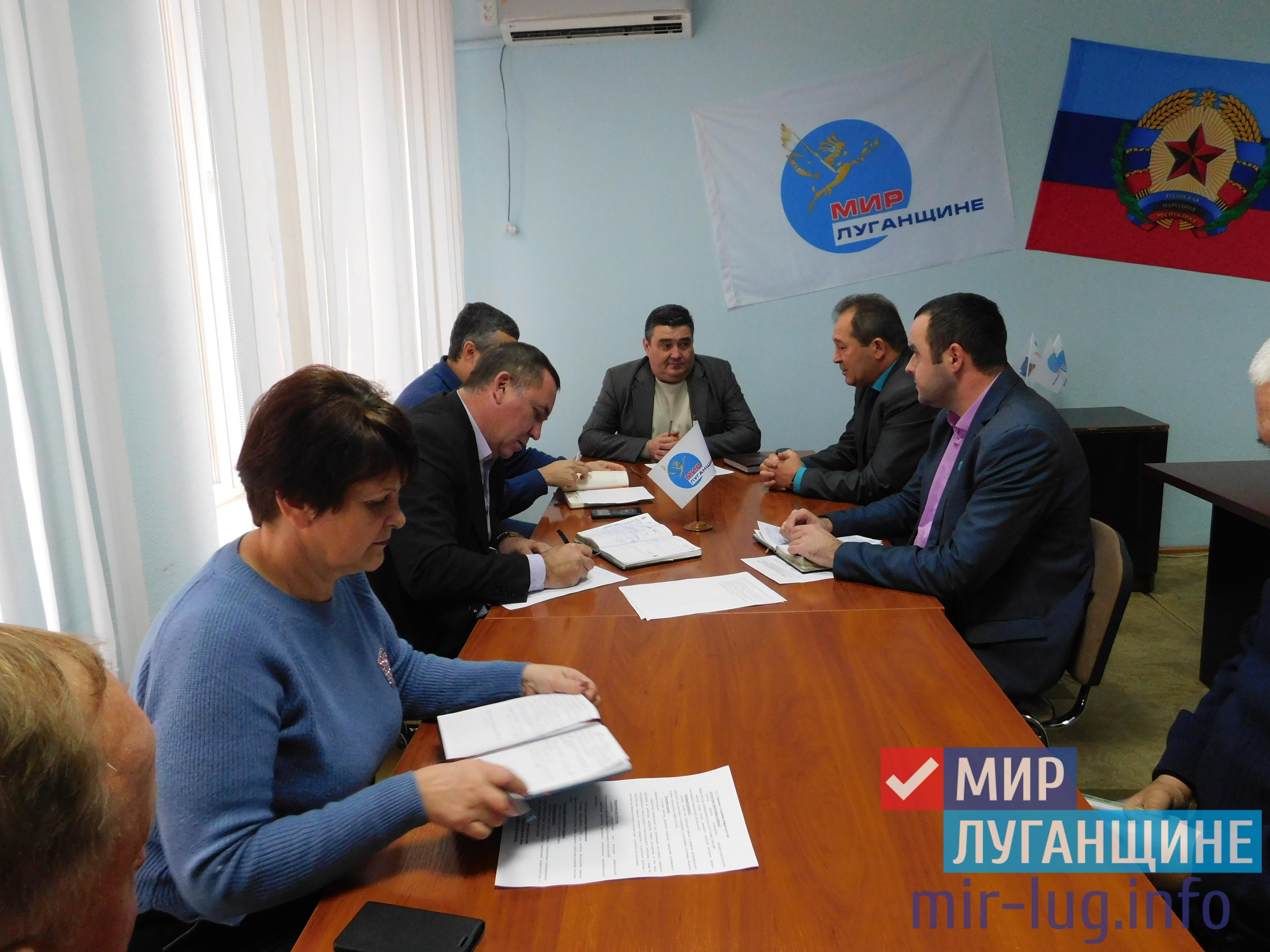 Руководство Минтранса ЛНР провело личный прием в Славяносербске 1