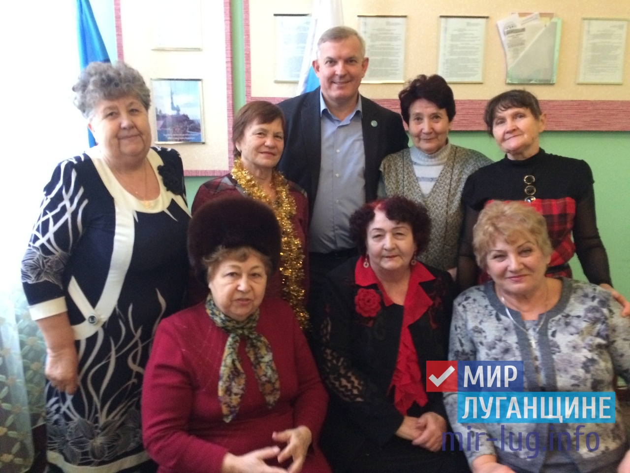Краснодонская организация ветеранов провела заседание президиума 1