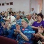 «Мир Луганщине» поздравил ветеранов госпиталя с наступающим Новым годом