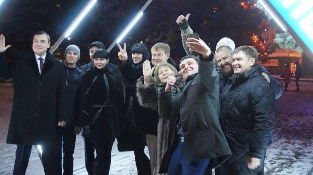 В рамках акции «Живи ярче» молодежь Республики провела флешмоб 4
