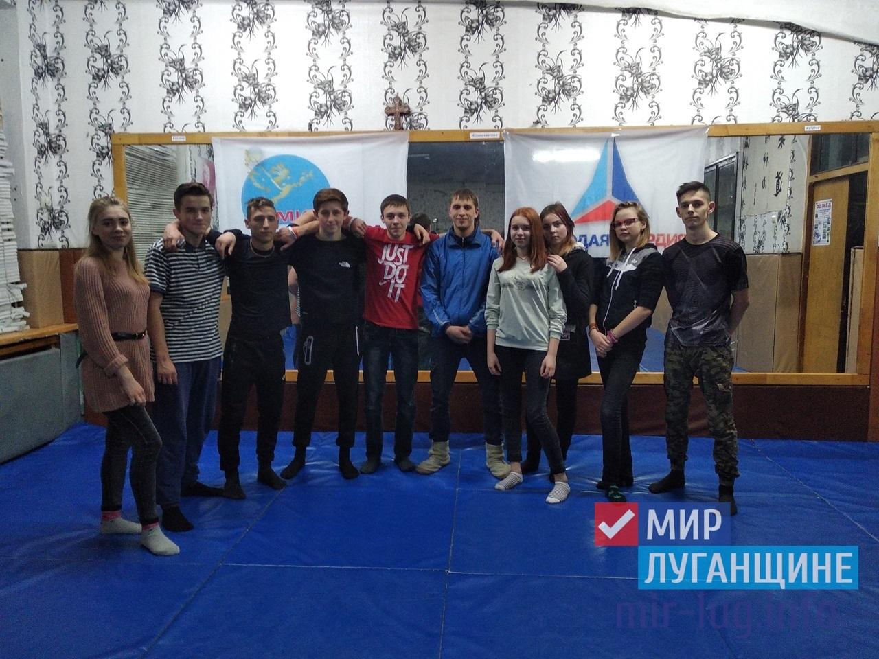 Спортивные соревнования прошли в Алчевске 1