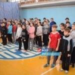 Школьники Кировска приняли участие в спортивных соревнованиях
