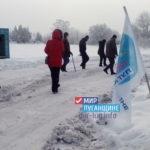 Активисты «Мир Луганщине» организовали проход к кринице в Миусинске