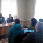Ветераны поселка Грушевое провели рабочую встречу