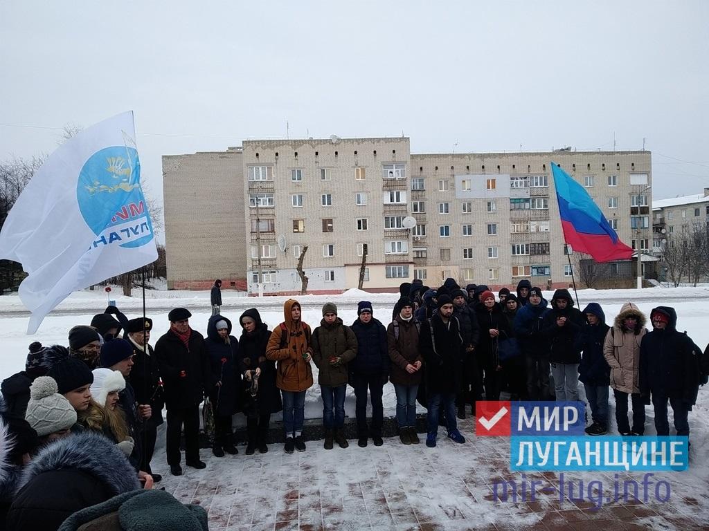 В Первомайске в честь годовщины снятия блокады с Ленинграда возложили цветы 1