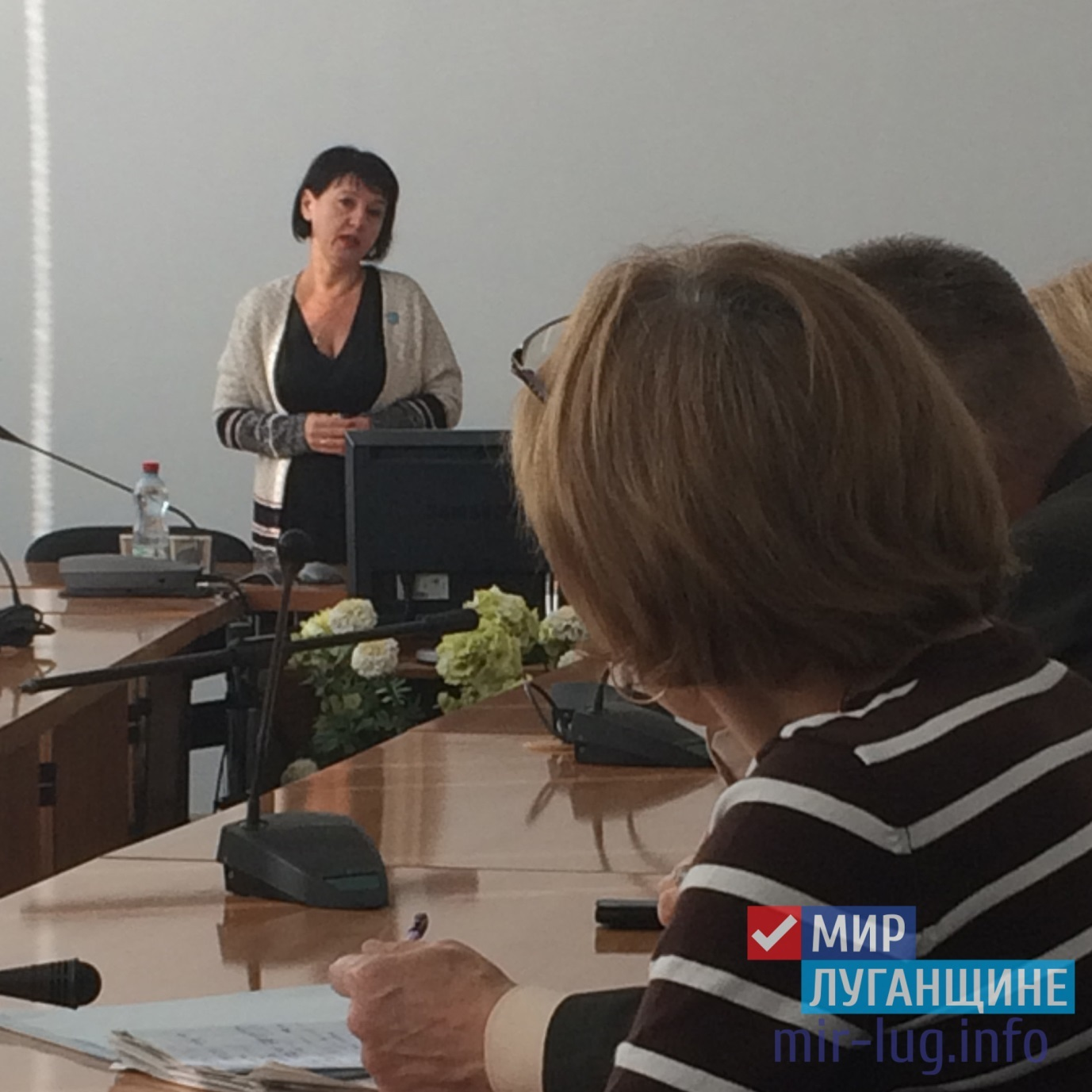 """""""Мир Луганщине"""" провел встречу с сотрудниками ООО """"ЛТК"""" 1"""