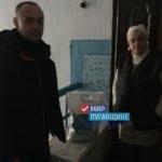 «Мир Луганщине» передал продуктовые наборы жителям Лутугино