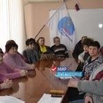 Лутугинские ветераны встретились с руководством проекта «Забота о ветеранах»