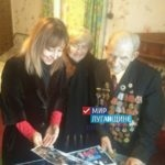 """""""Мир Луганщине"""" поздравил ветерана Великой Отечественной Войны с наступающим Рождеством"""