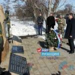 Руководство ЛНР приняло участие в митинге, посвященном годовщине освобождения Чернухино