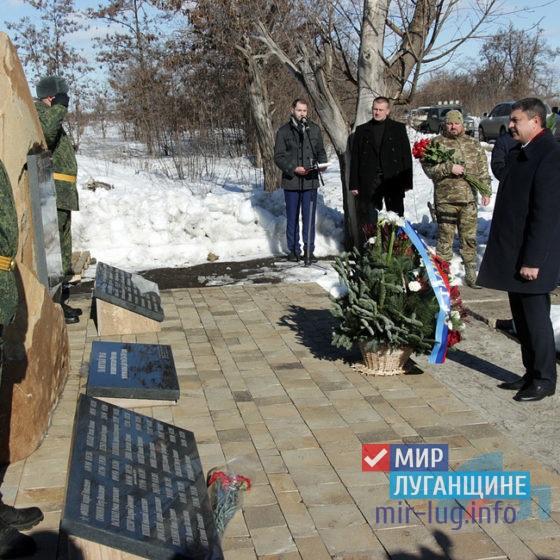 Руководство ЛНР приняло участие в митинге, посвященном годовщине освобождения Чернухино 8