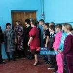 Председатель Антрацитовского теротделения ОД «Мир Луганщине» провел встречу с активом Есауловского поселкового совета