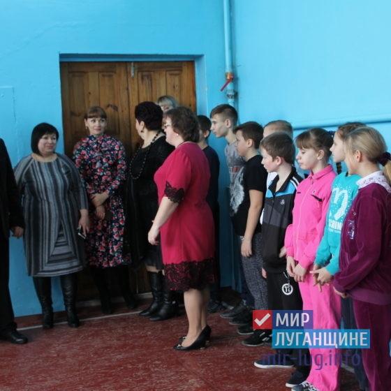 Председатель Антрацитовского теротделения ОД «Мир Луганщине» провел встречу с активом Есауловского поселкового совета 1