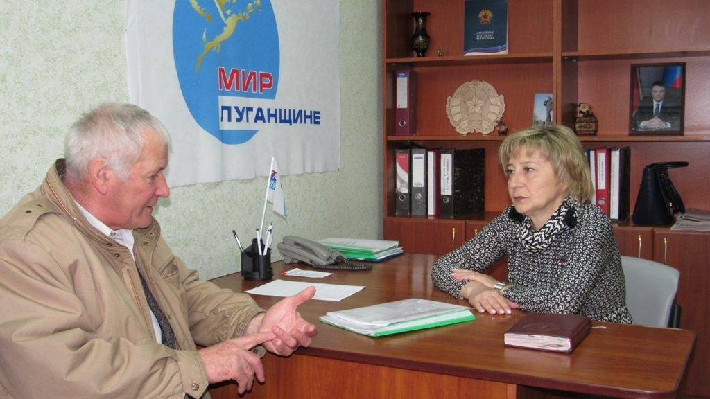 В Антраците и Стаханове прошли приемы граждан 3