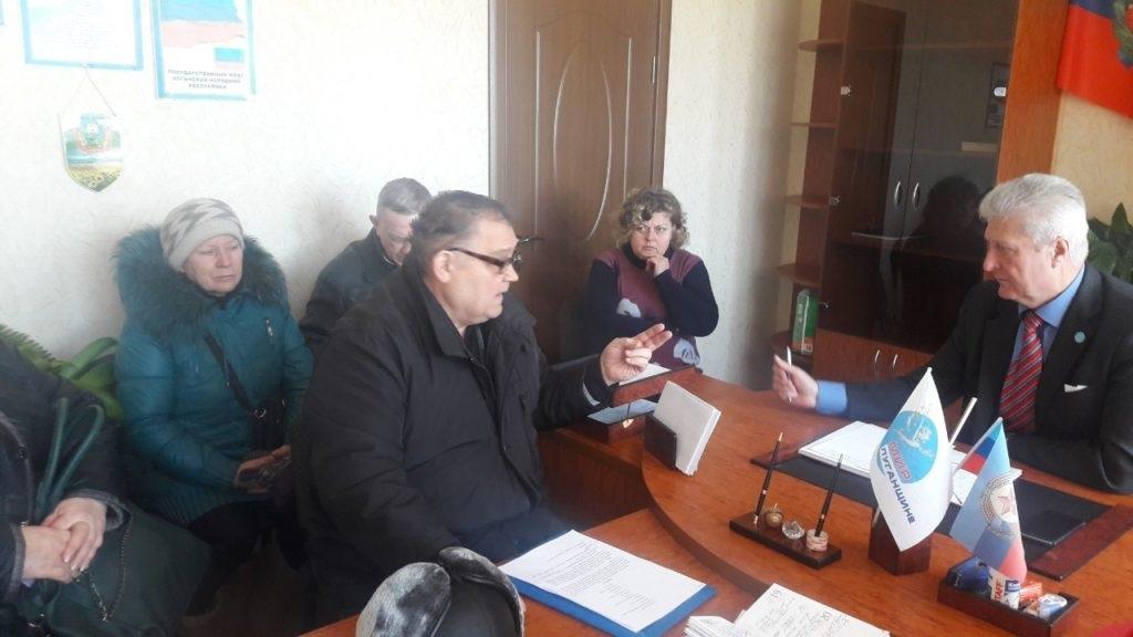 В селе Самсоновка и Алчевске прошли личные приемы граждан 1