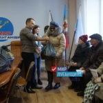 «Мир Луганщине» выдал продуктовые наборы семьям погибших военнослужащих Свердловского района