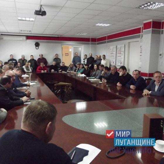 «Мир Луганщине» провел встречу с трудовым коллективом шахтоуправления «Суходольское-Восточное» 6