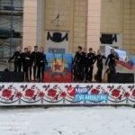 Митинг в честь 5-й годовщины «Русской весны» прошел в Червонопартизанске