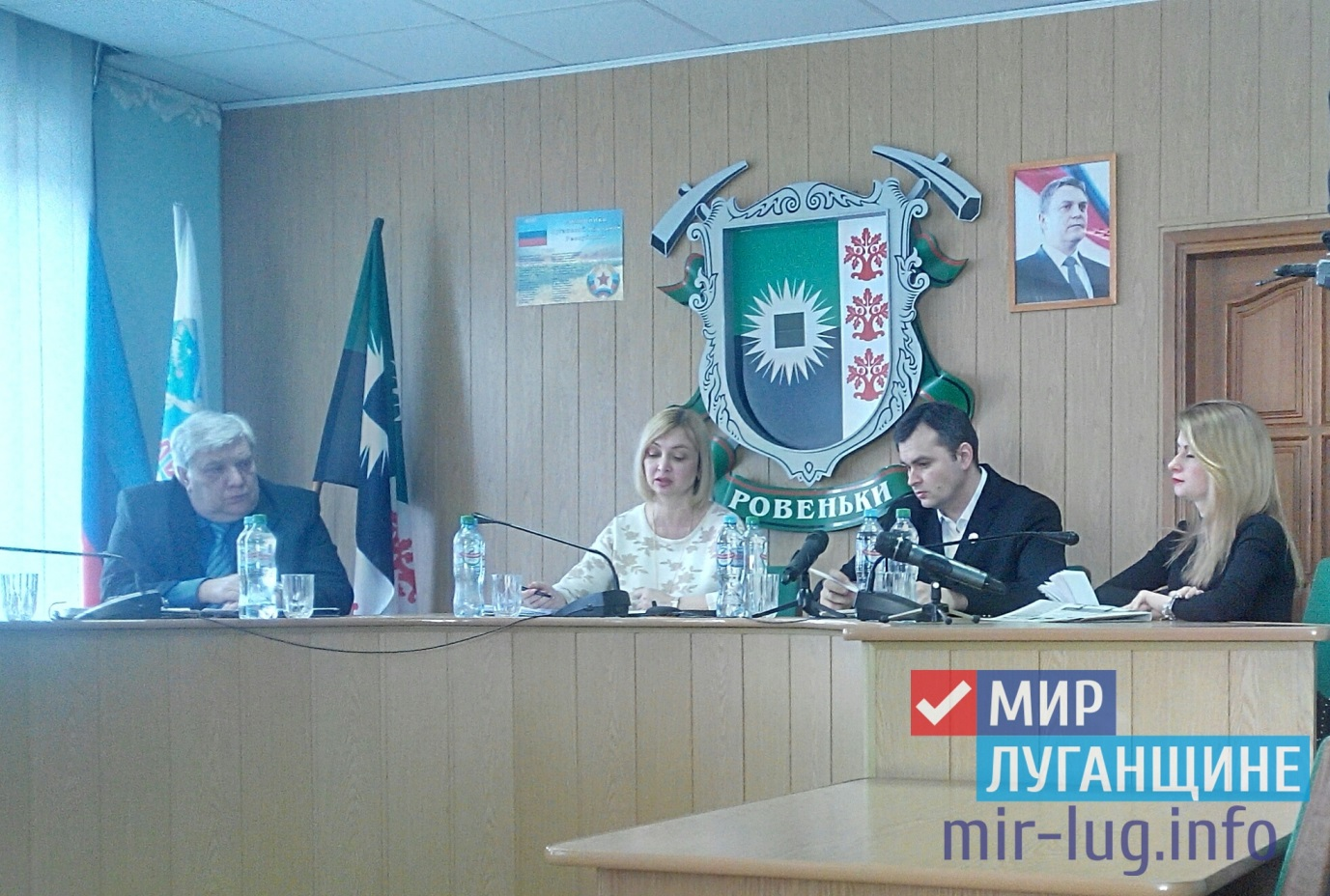 Прием граждан Министра здравоохранения ЛНР прошел в Ровеньках 1
