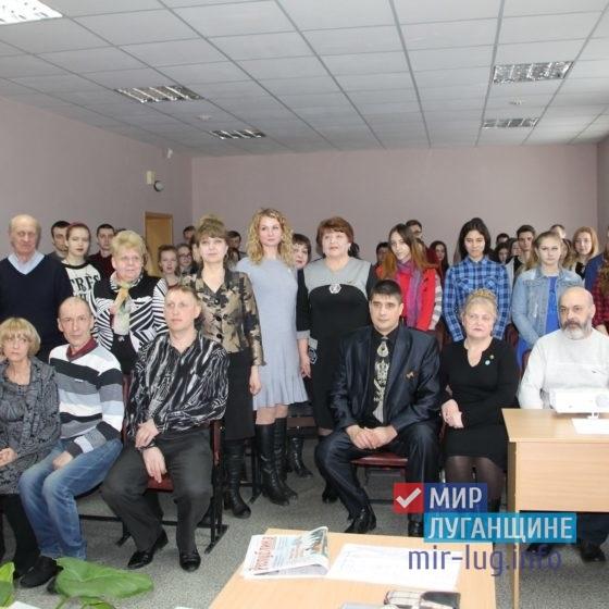 Елена Рахмукова встретилась с участниками событий Русской весны и молодежью города Антрацита 4