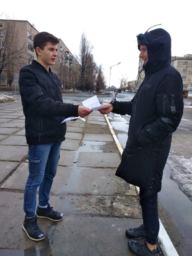 Акция «Комплимент» прошла в Кировске 2