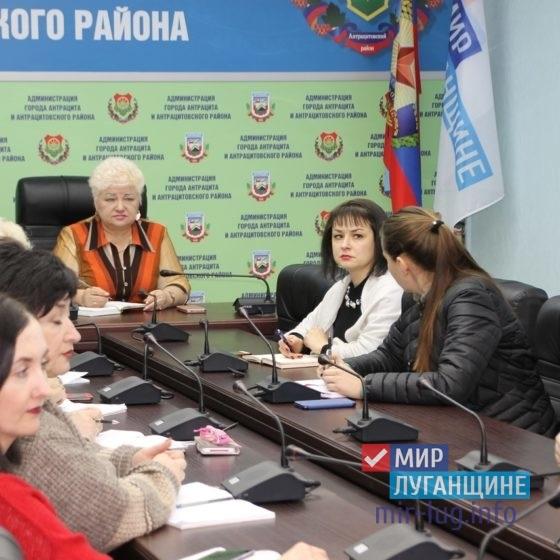 В Антраците состоялся прием граждан по личным вопросам заместителя  Главы Администрации 5