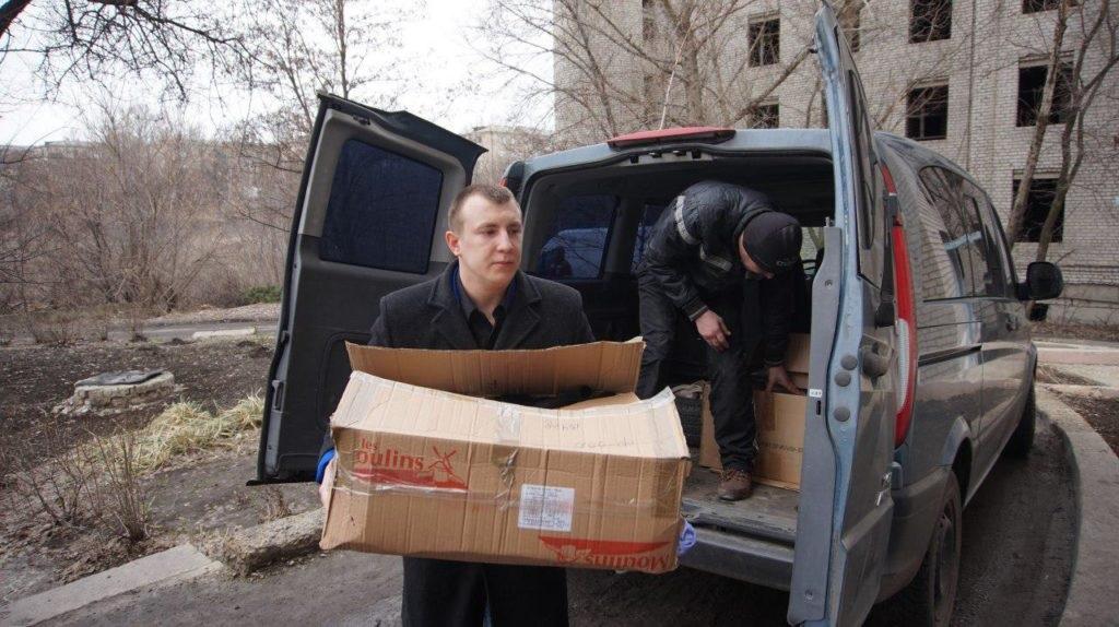 «Мир Луганщине» оказал помощь психиатрическому отделению Краснодонской больницы 2