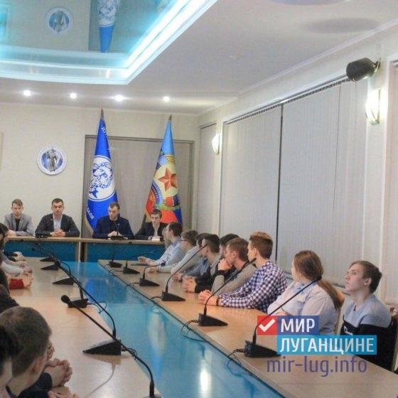 Оргкомитет Молодежного Парламента продолжает проводить встречи со студентами Республики 7
