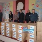 «Мир Луганщине» оказал помощь сотрудникам угольных предприятий ЛНР