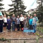 В посёлке Фабричное Лутугинского района почти память погибших в боевых действиях