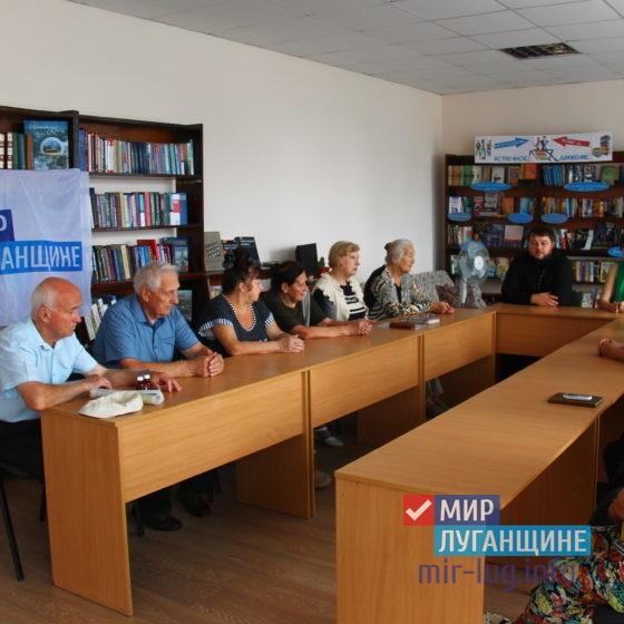 О крещении Руси рассказали в славяносербской библиотеке в рамках проекта «Забота о ветеранах» 5