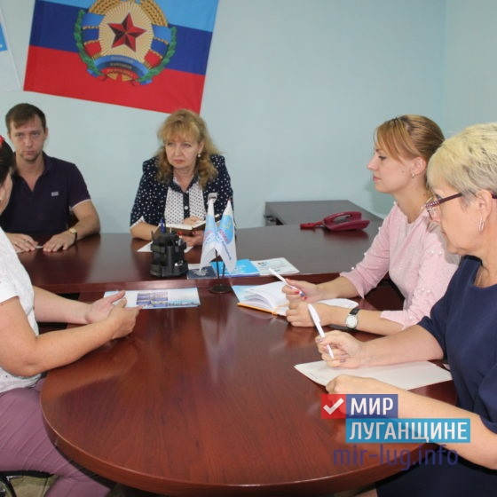 Депутат Народного Совета ЛНР провела прием в Славяносербске 8