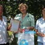 Активисты проекта «Забота о ветеранах» поздравили ветерана с юбилеем