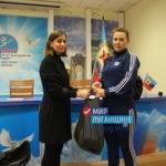 Жители Луганска получили помощь от ОД «Мир Луганщине»