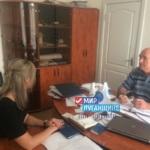 Жители Изварино рассказали о своих проблемах на приёме в тероделении ОД «Мир Луганщине»