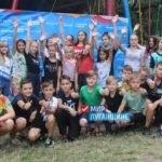 Активисты проектов «Волонтер» и «Молодая Гвардия» устроили в летнем лагере праздник