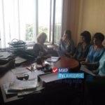 В Ирмино состоялась встреча участников первичного отделения Общественного движения «Мир Луганщине»