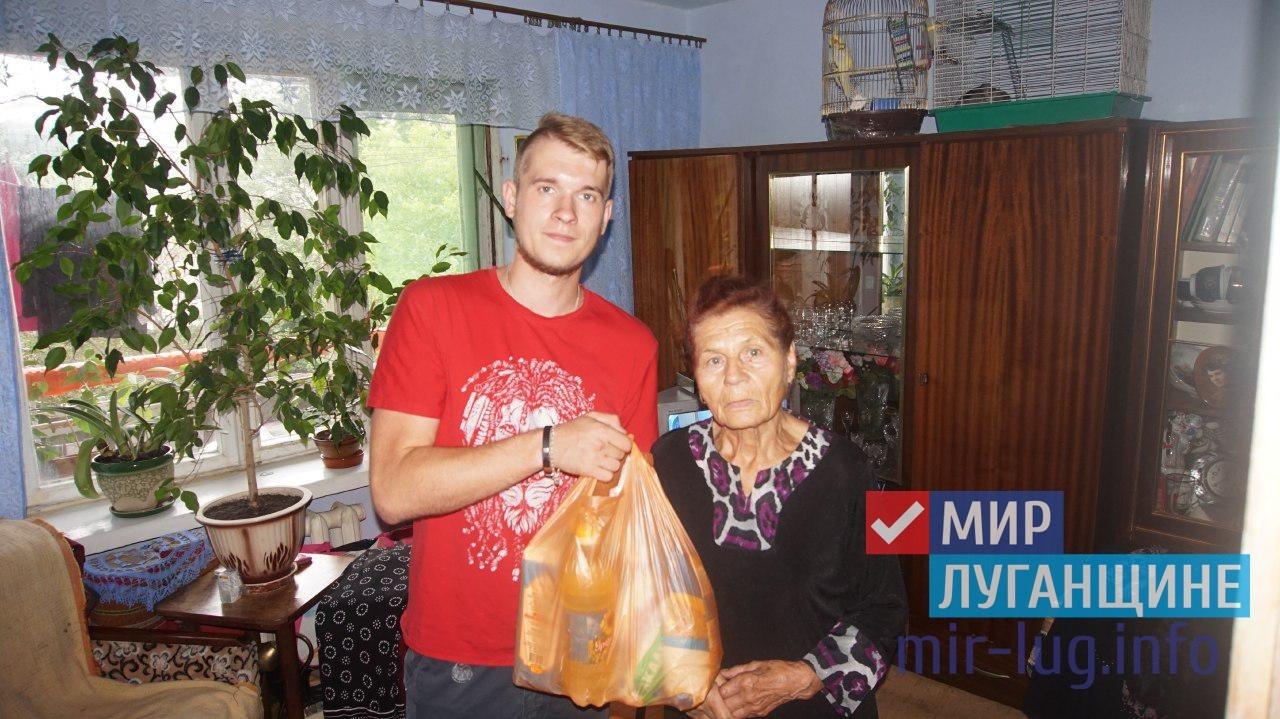 Активисты проекта «Волонтер» передали 51-ю партию шефской помощи 1