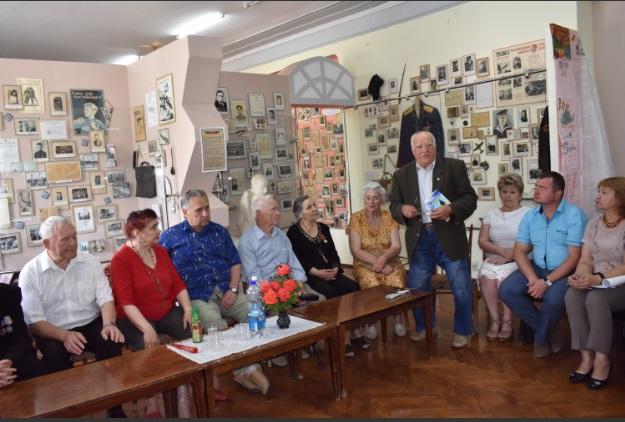 Встреча в честь 77-летия создания подпольной молодежной группы «Елочка» 2