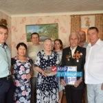 Проект «Забота о ветеранах» поздравили с Днем шахтера заслуженного горняка Первомайска