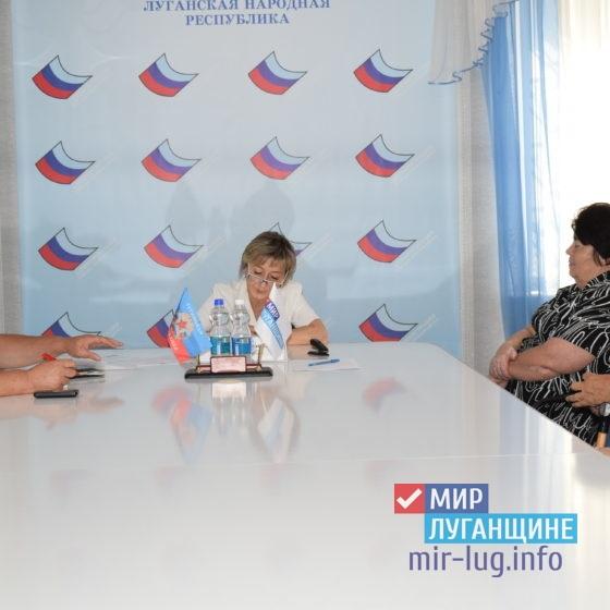 Светлана Алешина обсудила проблемы первомайцев 3