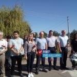 Митинг памяти состоялся в поселке Хрящеватое