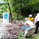 Реку Миус очистили от мусора и заторов