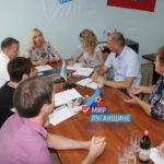 Министр здравоохранения ЛНР провела прием граждан в Славяносербске