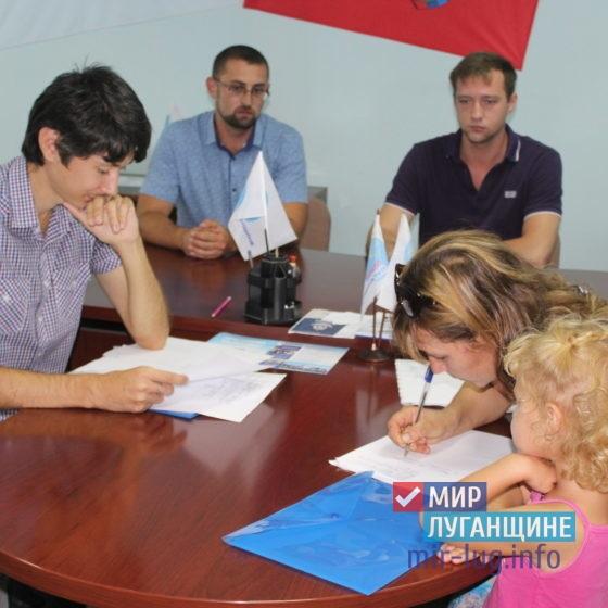 Помощники депутата Народного Совета ЛНР провели прием граждан в Славяносербске 9