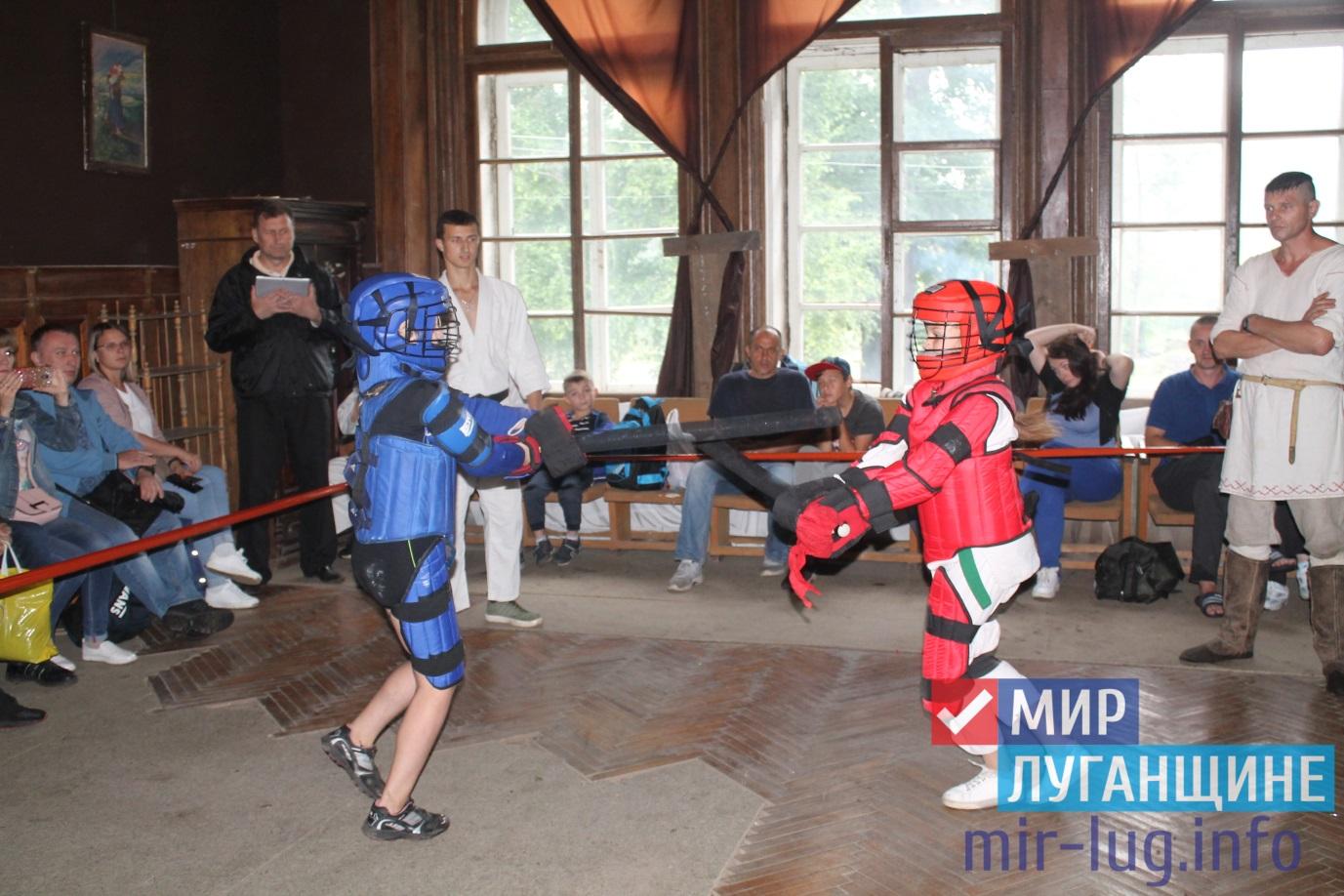 Рыцарский турнир состоялся в поселке Селезневка 1