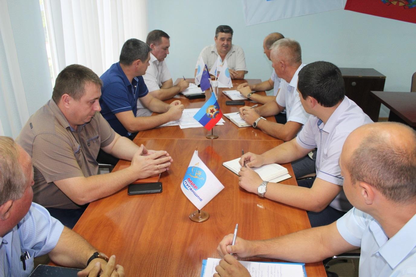 И.о. Министра инфраструктуры и транспорта провел прием граждан Славяносербска 1