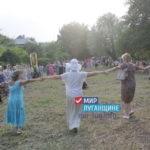 Акция «Хоровод мира» состоялась в одном из поселков Перевальского района