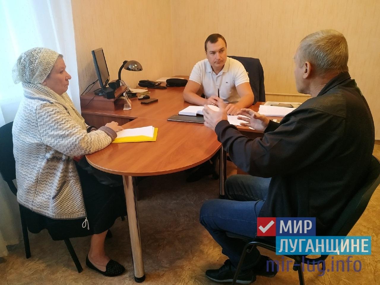 В Перевальске состоялся прием граждан депутатом Народного Совета 1