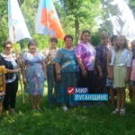 «Мы гордимся нашими воинами, защитниками ЛНР»: в поселке Щетово состоялся митинг-реквием